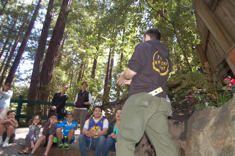 Mystery Spot Santa Cruz Tours