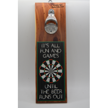 Fun and Games Bottle Opener