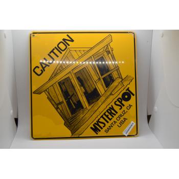 Cabin Caution Sign